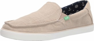 Sanuk Men's Sideline Linen Loafer Flat