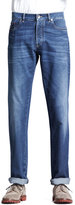 Brunello Cucinelli Lightweight Medium Wash Jeans, Indigo