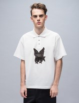 XANDER ZHOU S/S Polo With Bird Embroidery