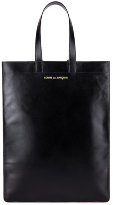 Comme des Garcons Classic Leather Line B Tote Bag in Black | FWRD