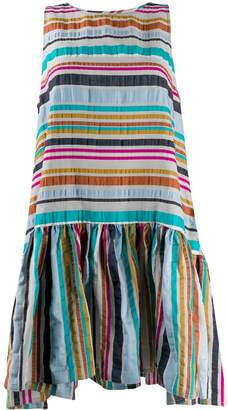 Henrik Vibskov Master G striped flared dress