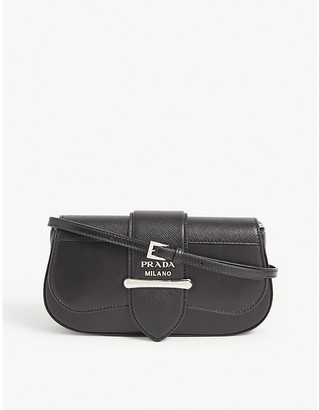 Prada Sidone leather cross-body bag