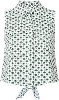 Milly palm print shirt