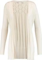 Diane von Furstenberg Bari ribbed silk and cashmere cardigan