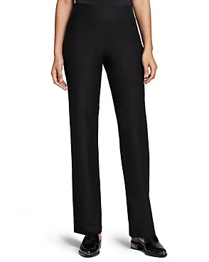 Eileen Fisher System Stretch-Crepe Straight Pants, Regular & Petite