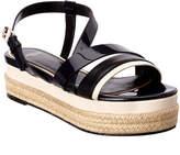 Lanvin Patent Platform Sandal