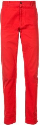 Comme Des Garçons Pre Owned Slim-Fit Mid Rise Jeans