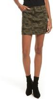 Rebecca Minkoff Women's Dove Camo Miniskirt