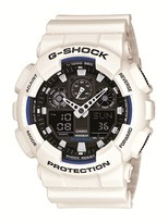 G-Shock white rubber bracelet watch