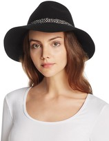 August Accessories Free Spirit Wool Fedora