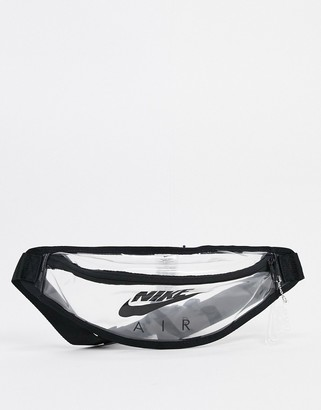 Nike Heritage transparent bum bag