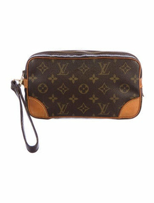 Louis Vuitton Vintage Monogram Marly Dragonne PM olive