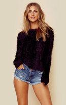 One Teaspoon sugarloaf crop knit sweater
