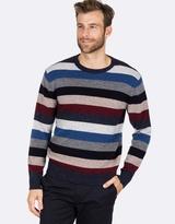 Blazer Charlie Stripe Crew Neck Knit