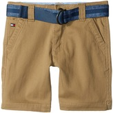 Tommy Hilfiger Dagger Stretch Twill Shorts (Toddler/Little Kids)