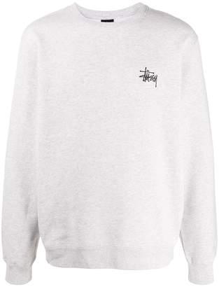 Stussy printed logo sweatshirt