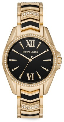 Michael Kors Whitney Pave Stainless Steel Bracelet Watch