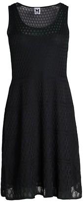 M Missoni Abito Mesh Sleeveless A-Line Dress