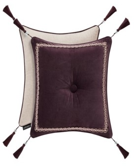 """J Queen New York J Queen Grace 18"""" Embellished Square Bedding"""