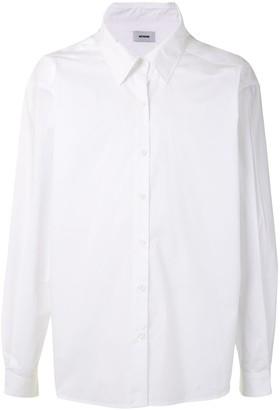 we11done Oversized Long-Sleeved Shirt