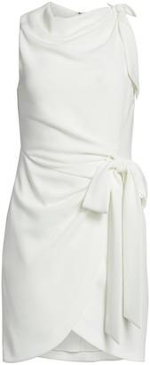 Cinq à Sept Mini Nanon Crepe Dress