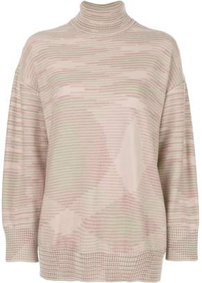 M Missoni relaxed-fit turtleneck jumper