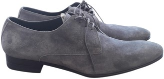 Christian Dior Grey Suede Lace ups
