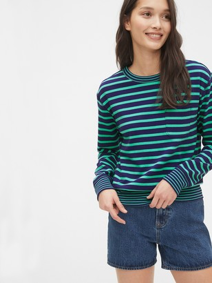 Gap Long Sleeve Pocket T-Shirt