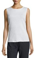Koral Activewear Aura Strappy-Back Performance Tank, White