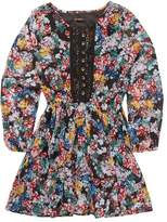 Ella Moss Flora Printed Peasant Dress