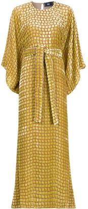 Taller Marmo Teodora long kaftan dress