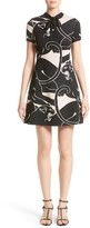 Valentino Women's Jacquard Panther Print Dress