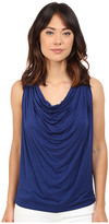 Brigitte Bailey Drapery Front Sleeveless Tank Top