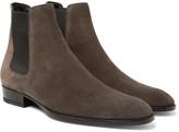 Saint Laurent - Wyatt Suede Chelsea Boots
