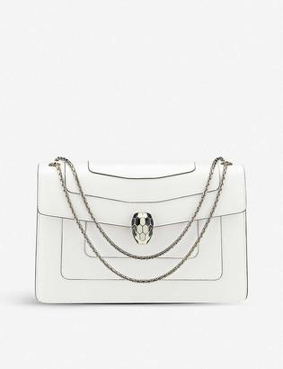 Bvlgari Serpenti Forever leather shoulder bag