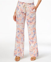 Roxy Juniors' Printed Drawstring Soft Pants