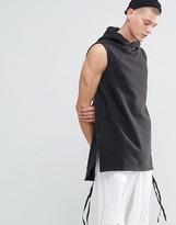 MHI Long Hooded Sweat Vest