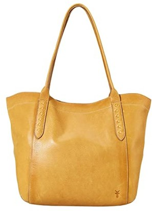 Frye Reed Shoulder Tote (Sunflower) Handbags