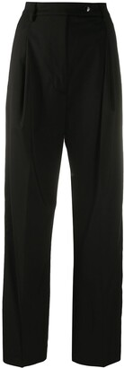 Barena High-Waisted Wide Leg Trousers
