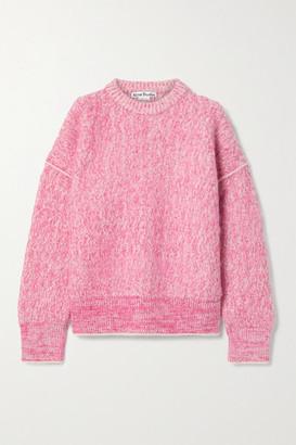 Acne Studios Melange Knitted Sweater