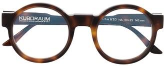 Kuboraum Round Frame Glasses