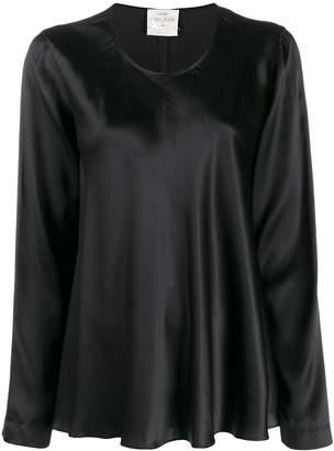 Forte Forte scoop neck satin blouse