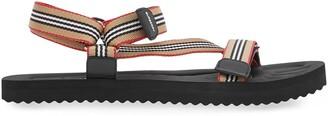 Burberry Icon Stripe sandals
