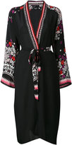 Holland Street - floral print robe - women - Silk Crepe - One Size