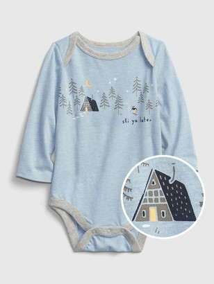 Gap Baby Mix and Match Winter Graphic Bodysuit