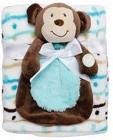 Baby Gear Babygear Big Face Squeaker Buddy With Blanket
