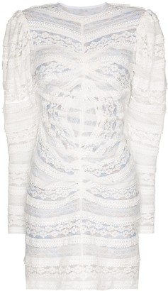 Brøgger Alva lace mini dress