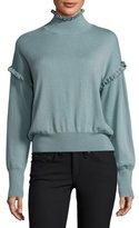 Rebecca Taylor Long-Sleeve Merino Wool Pullover Sweater