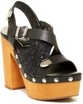 E8 by Miista Sienna Platform Block Heel Sandal