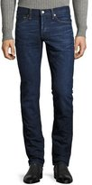 Tom Ford Slim-Fit Denim Jeans, Worn Blue